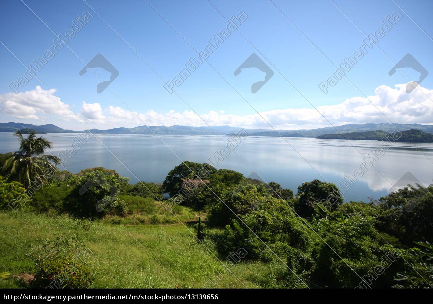 Mexiko, See, Gewässer, Himmel, Wolken, Panorama - 13139656