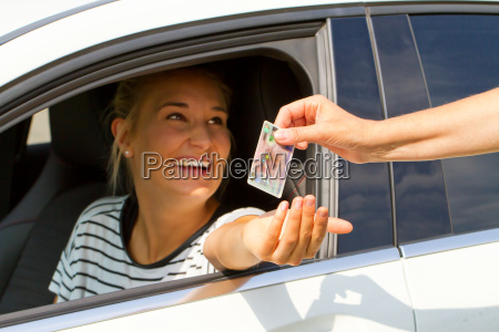 happy young drivers get driving license