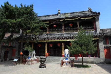 tempelanlagen von wutai shan in china