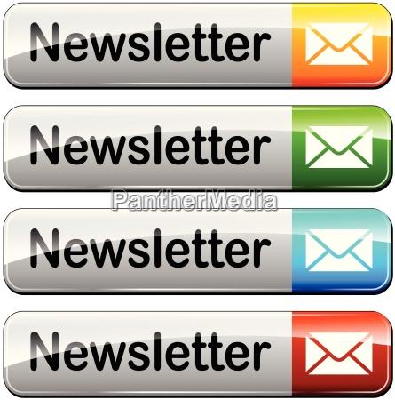 nachrichten knopf button ikone neues neuigkeit