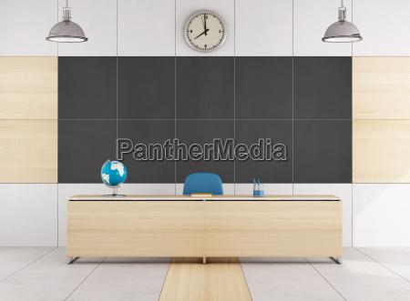 leere moderne klassenzimmer