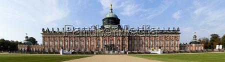 historico potsdam barroco vista brandenburgo alemania