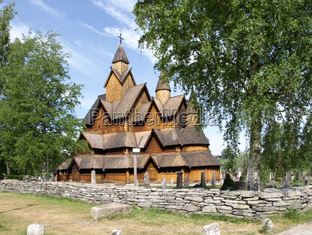 heddal, stave, church, in, norway - 13183894