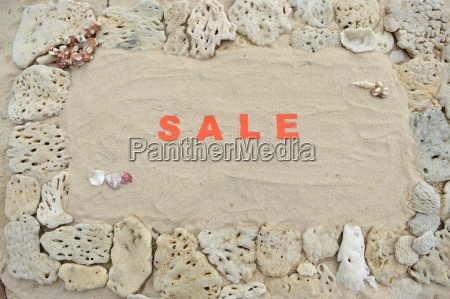 sale written in the sand