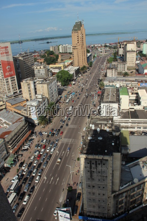 africa capital main road developing country