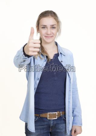 young woman portrait thumb