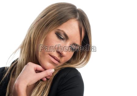 sensual woman face