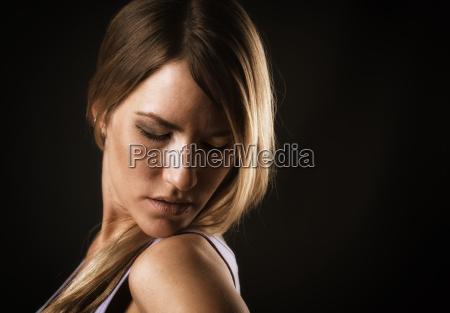 sexy woman face