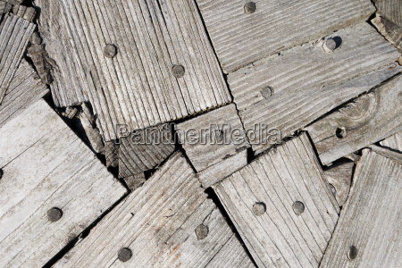 abstract pattern of wooden boards
