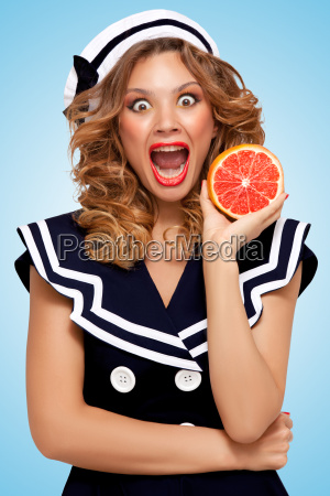 grapefruit peeling