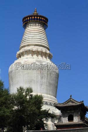 die, grosse, stupa, von, wutai, shan - 13232482