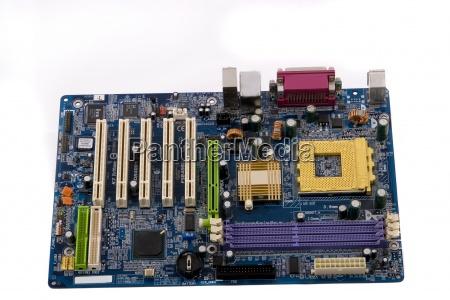 mainboard motherboard platine pc bauteil chipsatz