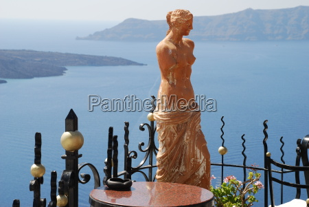 island of santorini nea paley kameni
