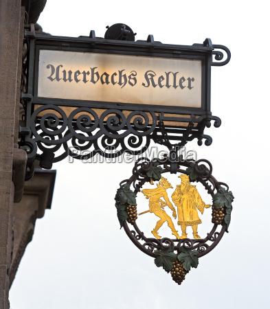 schild auerbachs keller