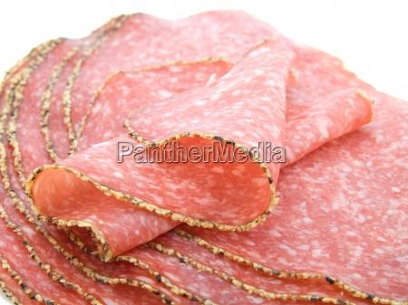 german pepper salami sausage
