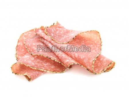pepper salami sausage