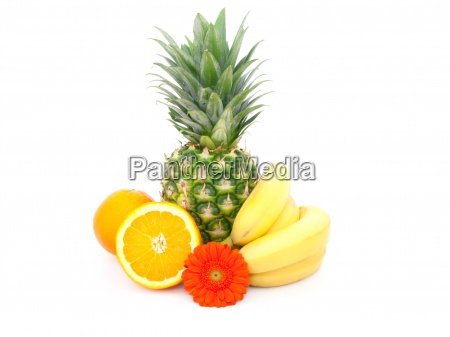 fruit isolated on white background