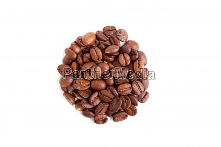 coffee, beans, in, a, circular, shape, - 13278898