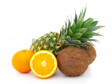 fruit, isolated, on, white, background, - 13278370