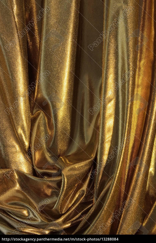 Goldener Stoff