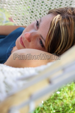 woman relaxation garden holiday vacation holidays