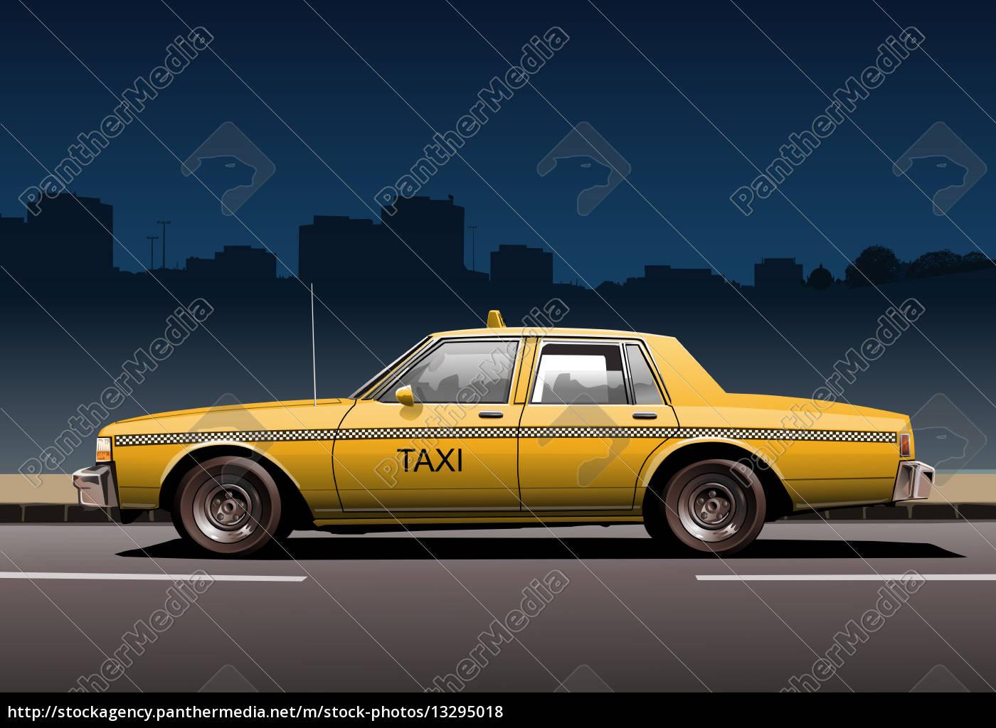taxi-seite - 13295018