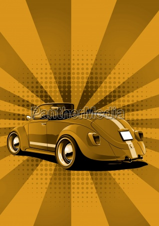 beetle convertible edgewise
