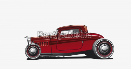 hotrod illustration