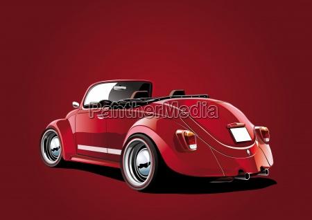 beetle-cabriol-rot1 - 13296178