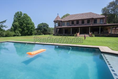 girl pool home