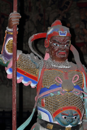 tempelfiguren vom black dragon tempel in