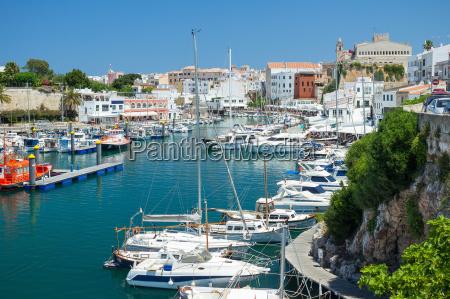 port of ciutadella menorca