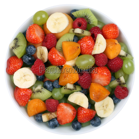 fruit salad with fruits in a