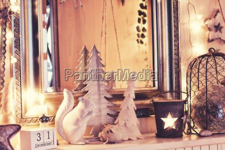 dekorationen im vintage stil