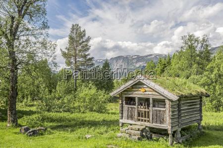 stabbur in norwegen
