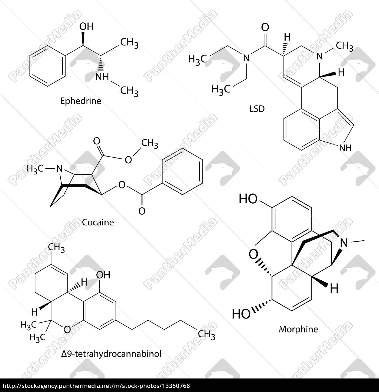 chemische formeln von illegalen drogen und substanzen lizenzfreies foto 13350768. Black Bedroom Furniture Sets. Home Design Ideas