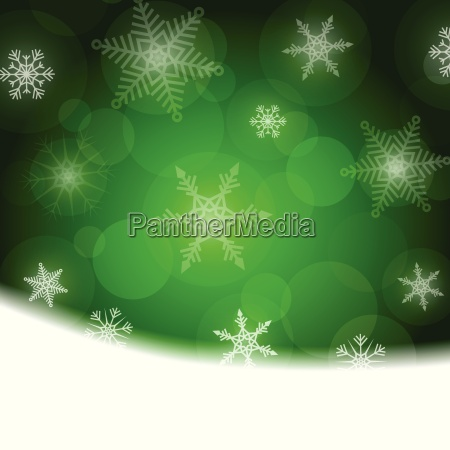 christmas, background, -, green, with, white - 13350304
