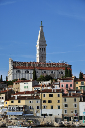 church in rovinj istria croatia