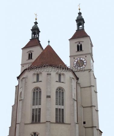 neupfarrkirche in regensburg