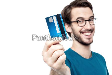 zeit um mit meiner kreditkarte einkaufen