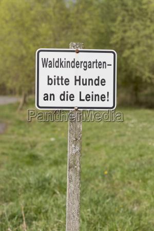 german sign
