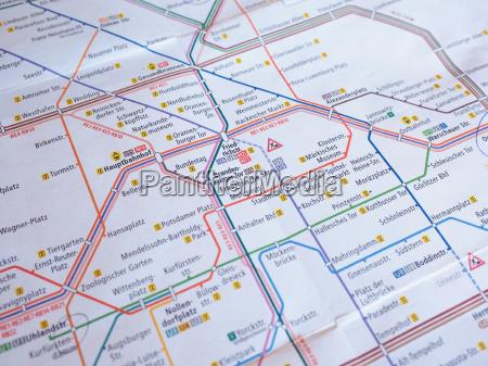 roehren karte der berliner u bahn