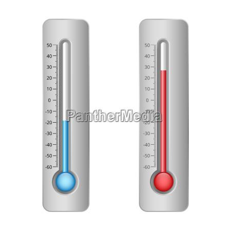 darstellung der thermometer