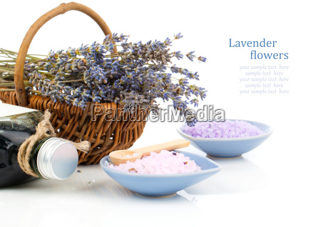 alternatively treatment with lavender flowers bath