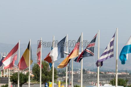 europaeiske flag