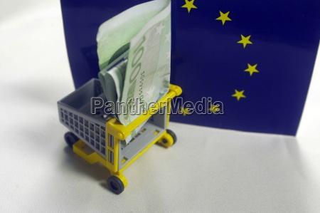 euro money cash cash finance trade