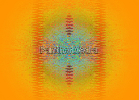 abstract spiral pattern yellow orange with