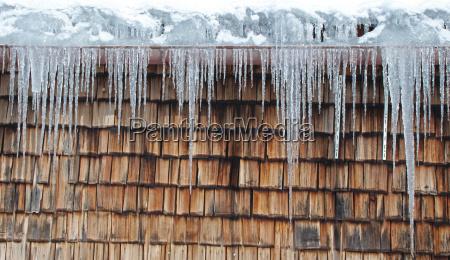 blue winter ice winter landscape icicle