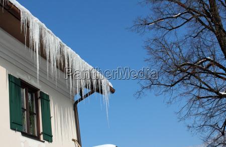 ice tap winter snow winter landscape