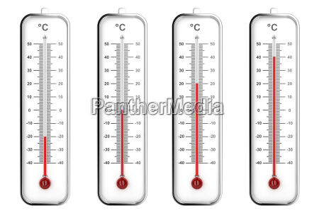 innenthermometer in celsius skala